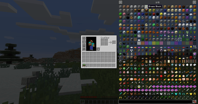 Just Enough Items Mod for Minecraft Cheat