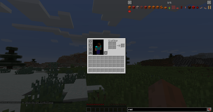 Just Enough Items Mod for Minecraft Color