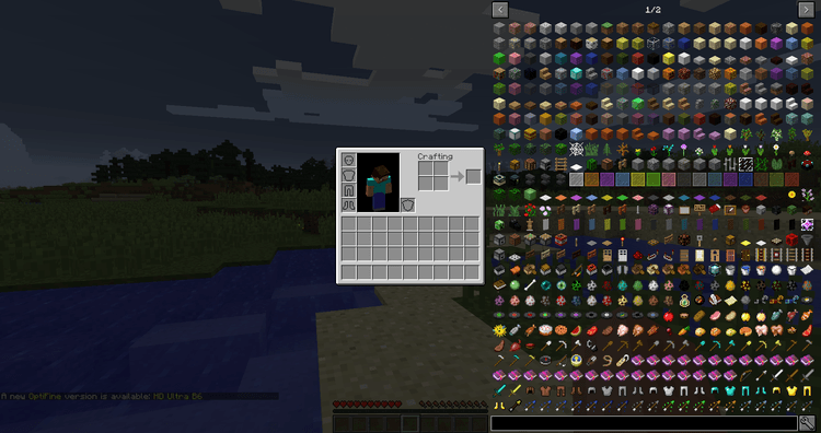 Just Enough Items Mod for Minecraft 1