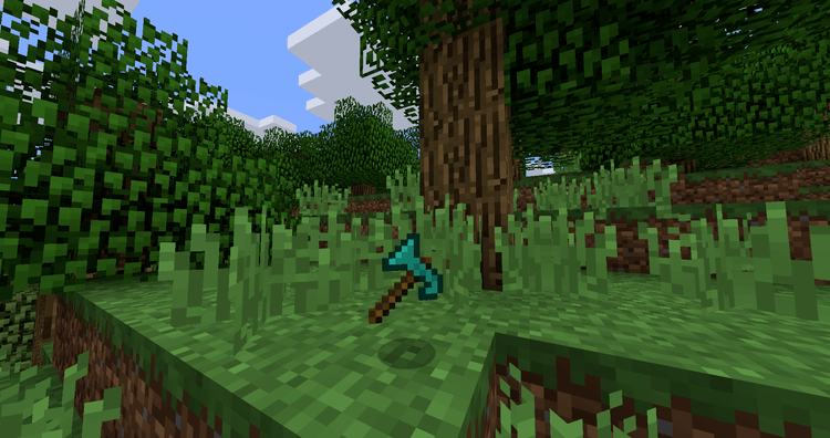 Whole Tree Axe Mod for Minecraft 3
