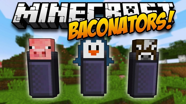 Baconators Mod for Minecraft Logo