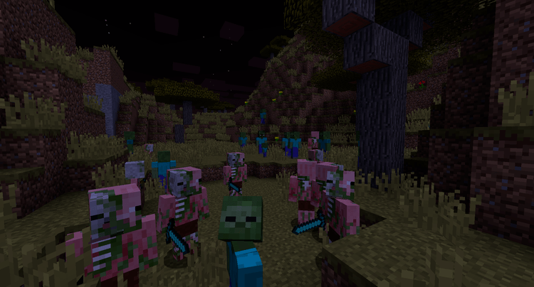 Cracked Zombie Mod for Minecraft 1