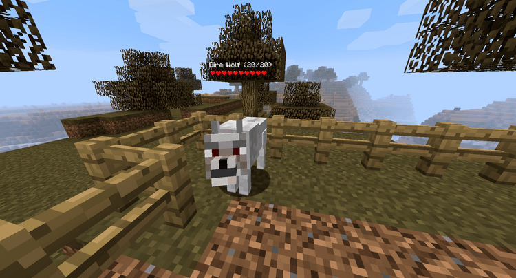 Ender Zoo Mod Wolf