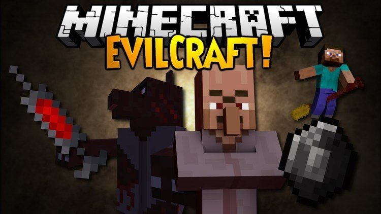 EvilCraft Mod for Minecraft Logo