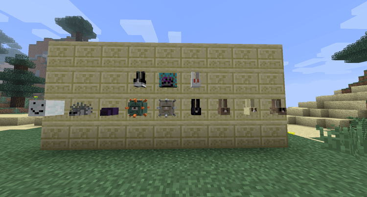 Headcrumbs Mod for Minecraft 3