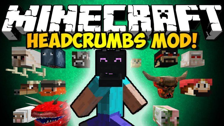 Headcrumbs Mod for Minecraft Logo