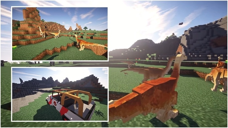 JurassiCraft 2 Mod for Minecraft 1
