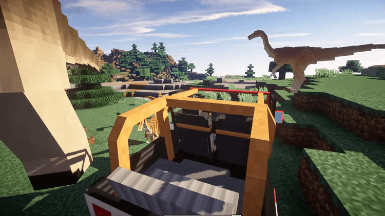 JurassiCraft 2 Mod for Minecraft 4