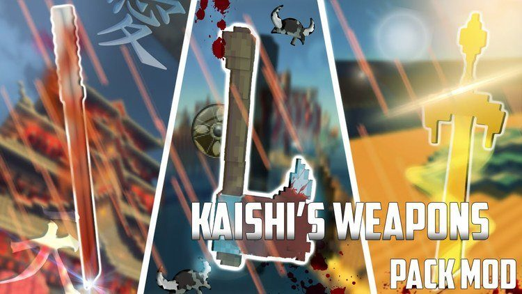 Kaishi's Weapon Pack Mod Logo