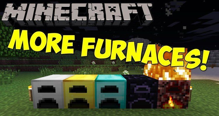 More Furnaces Mod for Minecraft Logo