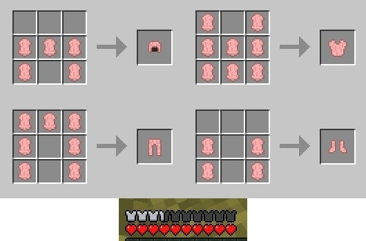 More Shearables Mod for Minecraft 3