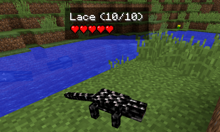Reptile Mod for Minecraft Lace