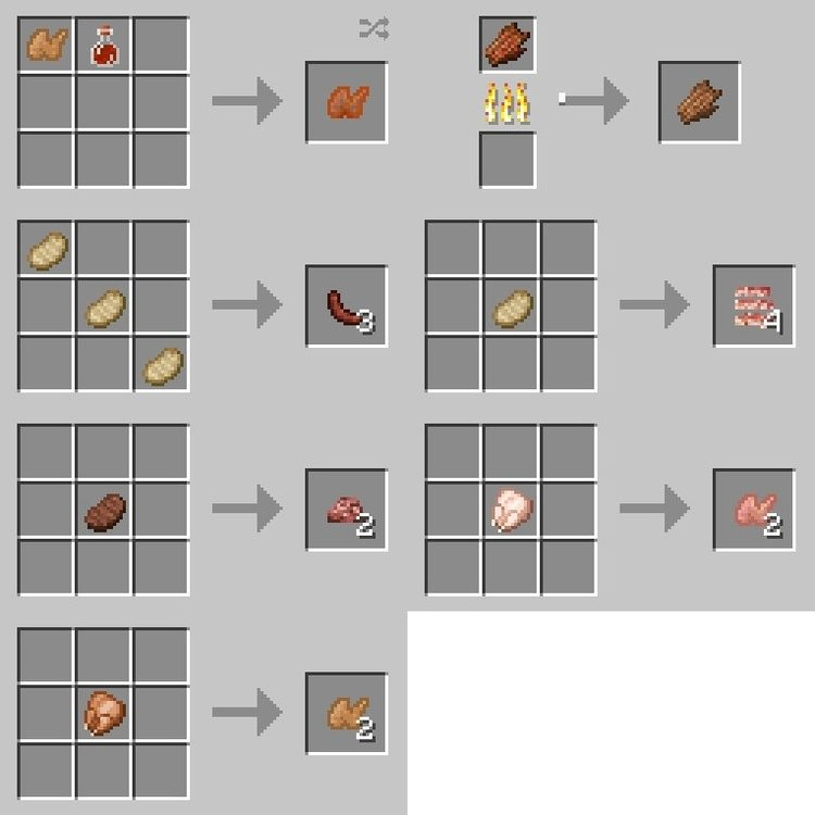 XL Food Mod - Add more Foods for Minecraft 9.99/9.90.9 Mc-mod.net