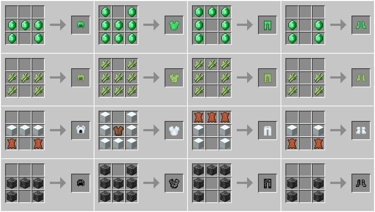 Block Armor Mod for Minecraft 04