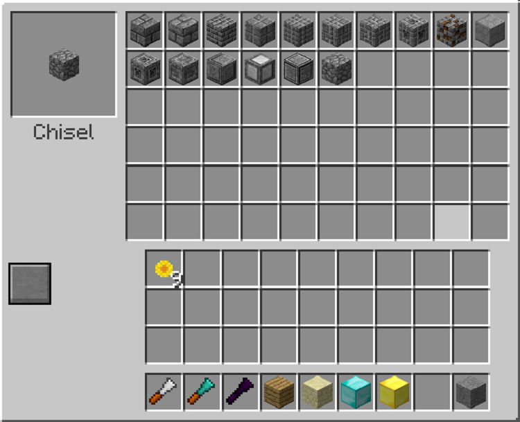 Chisel Mod for Minecraft 11