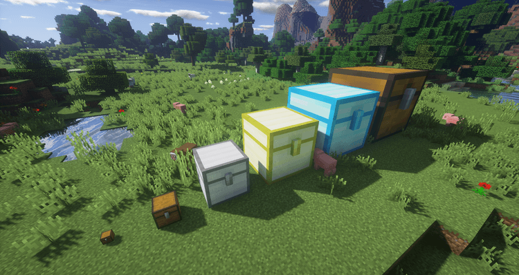 Colossal Chests Mod for Minecraft 01