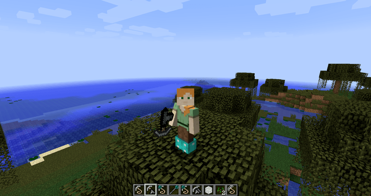 Grappling Hook Mod for Minecraft 1