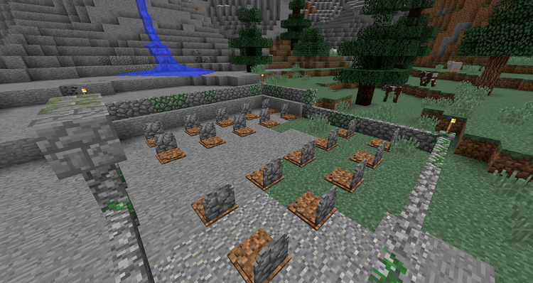 Grave Stone Mod for Minecraft 01
