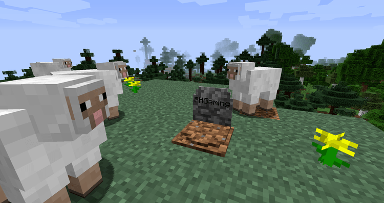 Grave Stone Mod for Minecraft 02