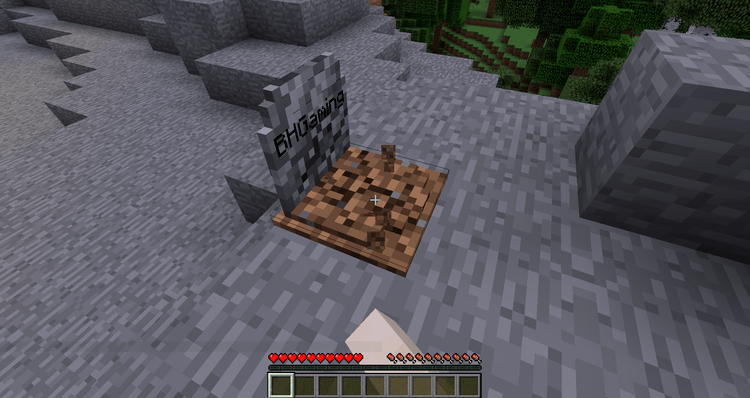 Grave Stone Mod for Minecraft 04
