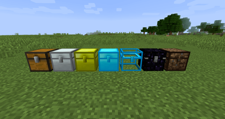 Iron Chest Mod for Minecraft 01
