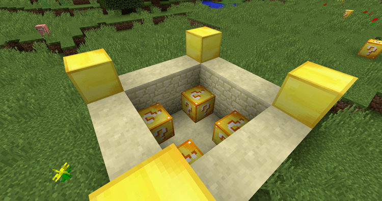 Lucky Block Mod 1 14 4/1 12 2 (Epic Mod for Gamblers) - Mc