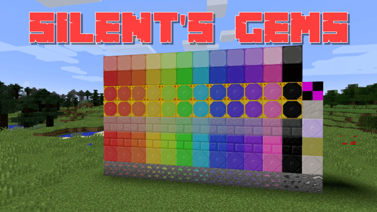 Silent's Gems Mod for Minecraft 1