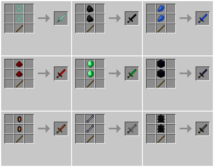 Weapons Plus Mod for Minecraft 03