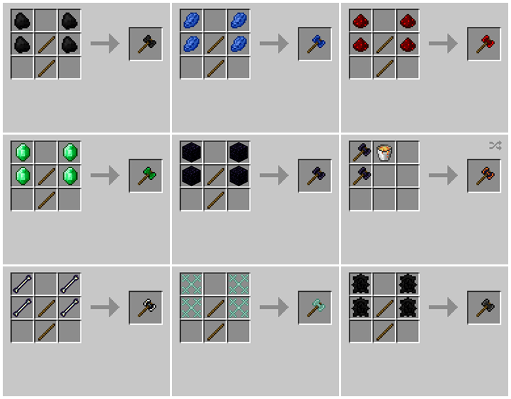 Weapons Plus Mod for Minecraft 04