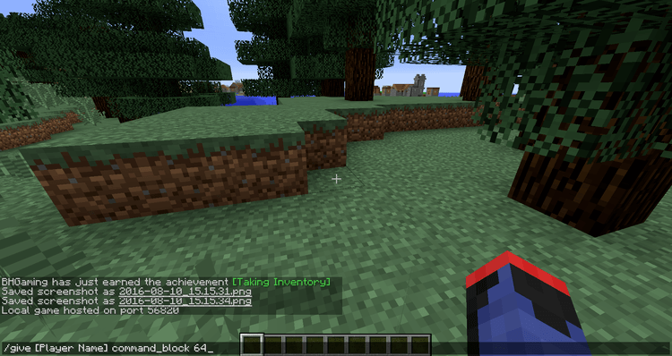 How to use Command Block for Minecraft 2