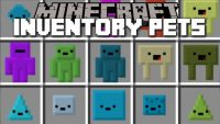 Inventory Pets Mod for Minecraft Logo