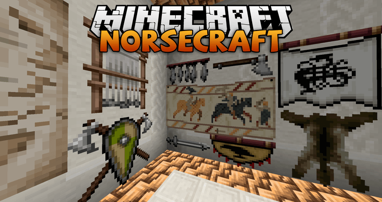 Norsecraft resource pack logo