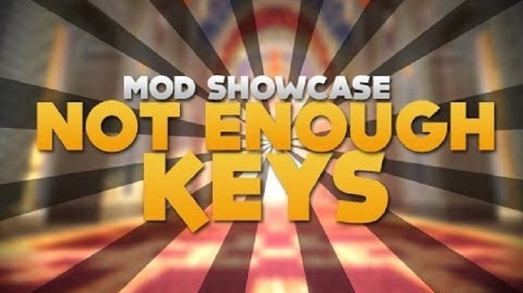 Not Enough Keys Mod Logo