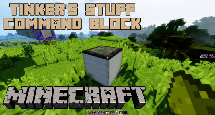 Tinker's Stuff Command Block Logo
