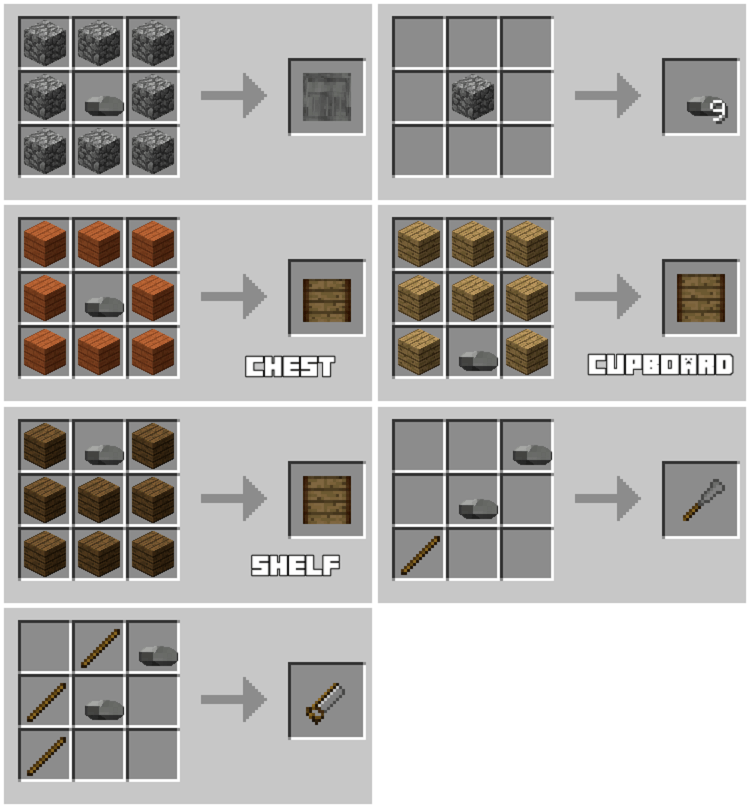 Immersive Craft Mod for Minecraft 4