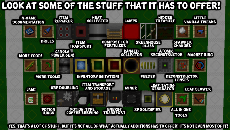 Actually Additions Mod 5