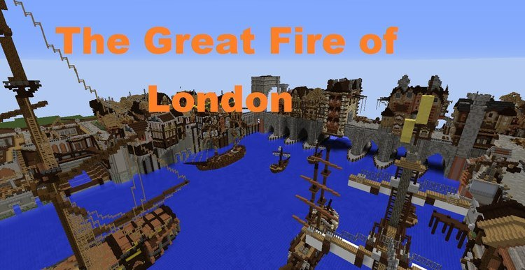 Great Fire Of 1666 Map logo
