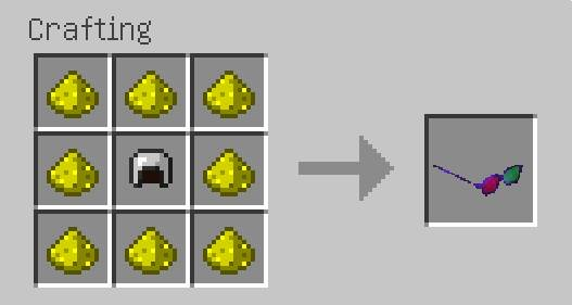 Monster's Glasses Command Block Recipe