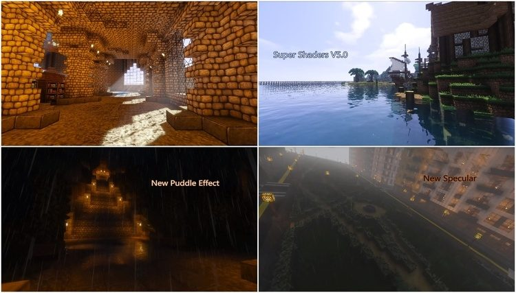 Super Shaders Mod 4