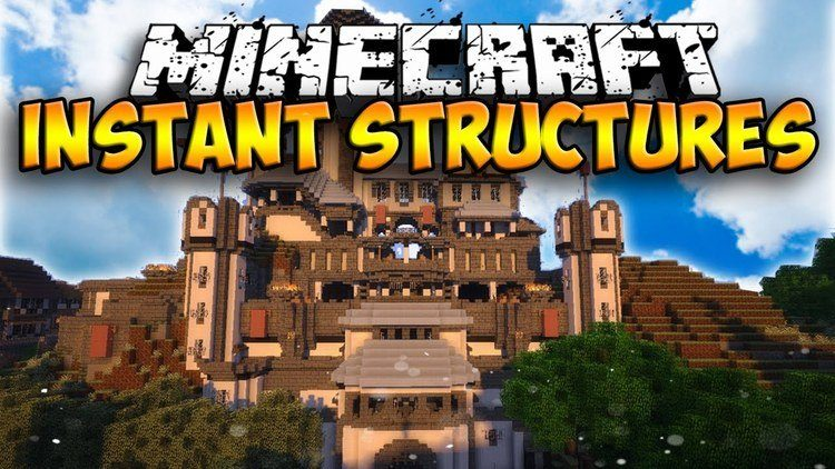 Instant Structures Mod logo