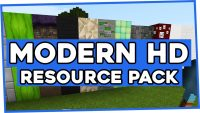 Modern HD Resource pack logo