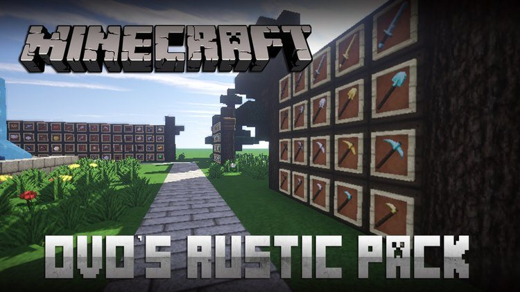 Ovo's Rustic Resource Pack Logo