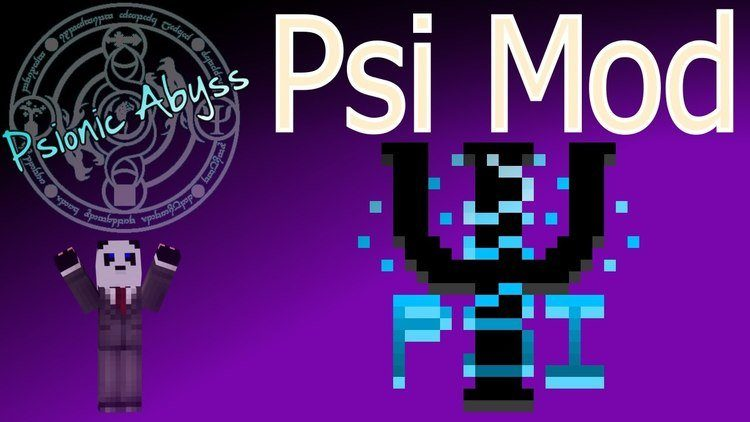 PSI Mod for Minecraft Logo