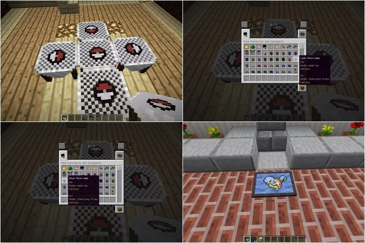 Pixelmon Furniture Mod 3