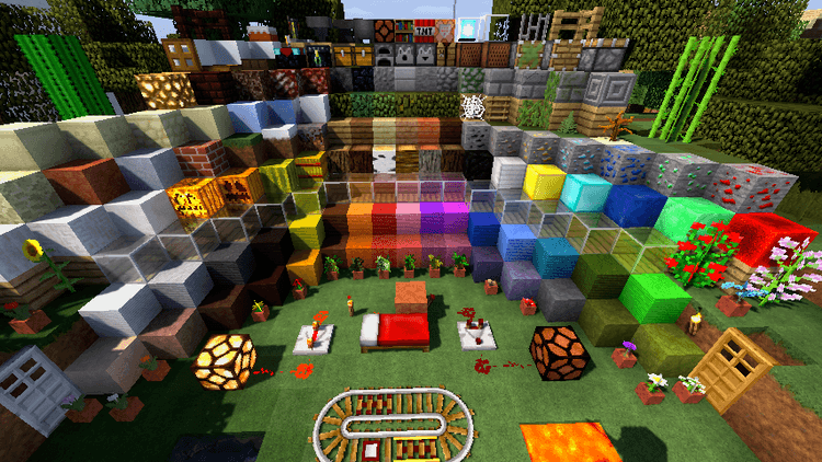 R3D CRAFT Resource Pack 01