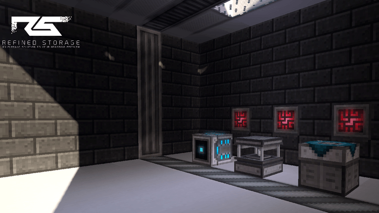 Refined Storage mod for minecraft 01