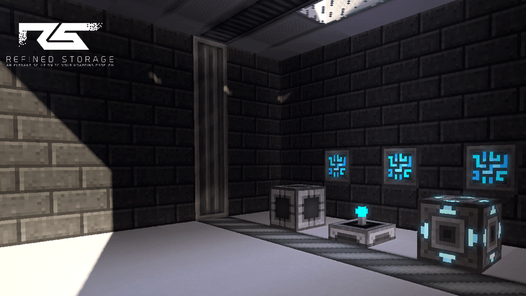 Refined Storage mod for minecraft 02