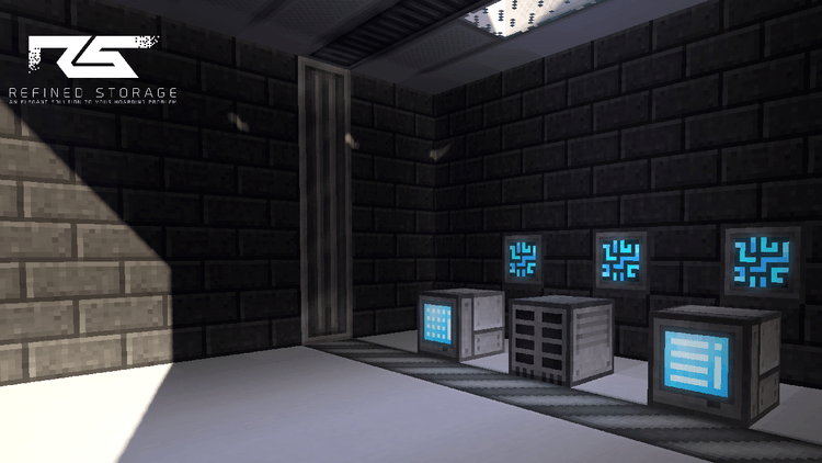 Refined Storage mod for minecraft 03