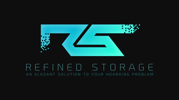 Refined Storage mod for minecraft logo