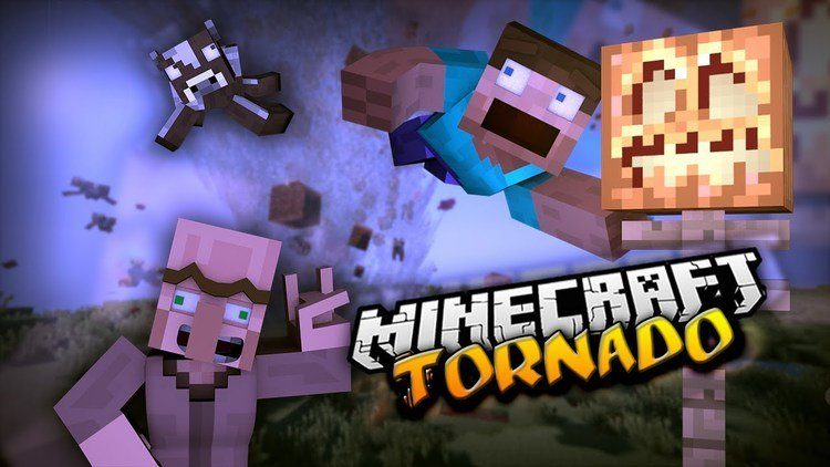 Weather and Tornadoes Mod 1 12 2/1 11 2 for Minecraft - Mc
